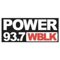 Logo of radio station WBLK Power 93.7