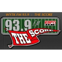Logo of radio station 93.9 The Score WYTK