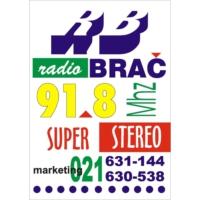Logo of radio station Radio Brač