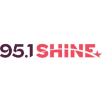 Logo of radio station WRBS-FM 95.1 SHINE FM