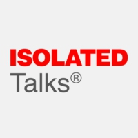 Logo of radio station ISOLATED Talks® Radio