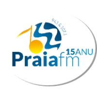 Logo of radio station Praia FM