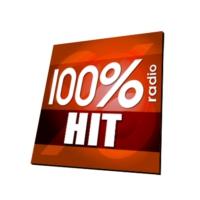 Logo of radio station 100% RADIO HIT