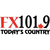 Logo de la radio CHFX-FM FX101.9