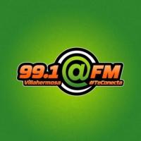 Logo de la radio XHEPR @FM 99.1