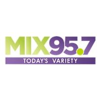 Logo de la radio WLHT Mix 95.7FM