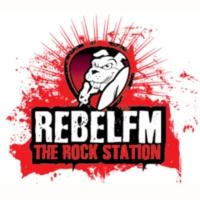 Logo of radio station Rebel FM 95.9