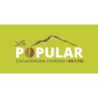Logo of radio station XHCAH La Popular 89.1 FM