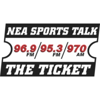 Logo de la radio KNEA-AM 95.3 The Ticket