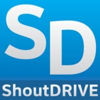 Logo of radio station ShoutDRIVE