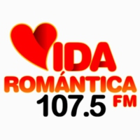 Logo of radio station XHKOK Vida Romantica 107.5 FM