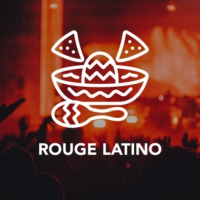 Logo of radio station Rouge Latino