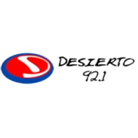 Logo de la radio Desierto 92.1 FM