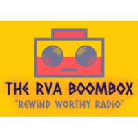 "Logo de la radio The RVA Boombox ""Rewind Worthy Radio"""