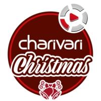 Logo de la radio charivari Christmas