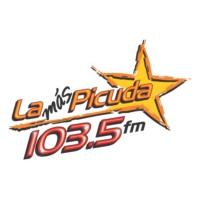 Logo of radio station XHPV La Más Picuda 103.5