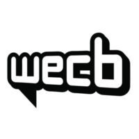 Logo of radio station WECB