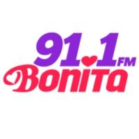 Logo de la radio XHECM  Bonita 91.1 FM