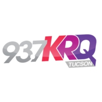 Logo of radio station 93.7 KRQ