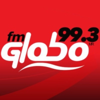Logo of radio station XHOCL FM Globo 99.3