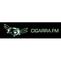 Logo of radio station Cigarra FM