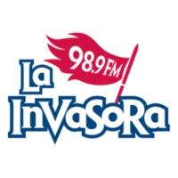 Logo of radio station XHERO La Invasora 98.9 FM
