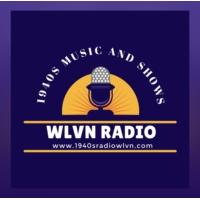 Logo of radio station WLVN 1940s Radio