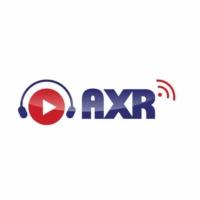 Logo of radio station AXR Hong Kong