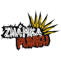 Logo of radio station Rock Rádio - Známka Punku