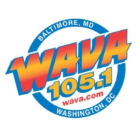 Logo of radio station WAVA 105.1 FM