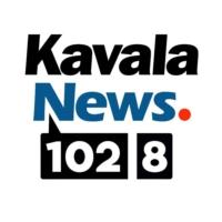 Logo of radio station KavalaNews 102.8