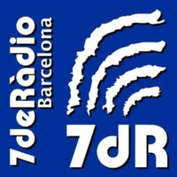 Logo of radio station 7deRàdio