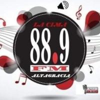 Logo of radio station 88.9 la cima fm altagracia risaralda