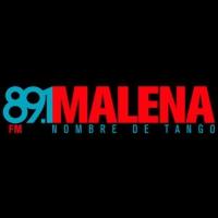 Logo de la radio Fm 89.1 Malena