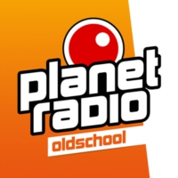 Logo of radio station planet radio - oldschool
