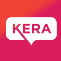 Logo of radio station KERA 90.1