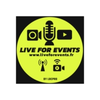 Logo de la radio LIVE FOR EVENTS