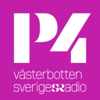 Logo of radio station P4 Västerbotten