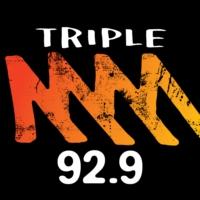 Logo of radio station 92.9 Triple M Perth