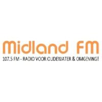 Logo of radio station Midland FM 107.5