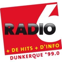 Logo de la radio Radio 6 - Dunkerque