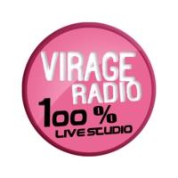 Logo de la radio Virage Radio 100% Live Studio