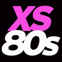 Logo of radio station XS80s