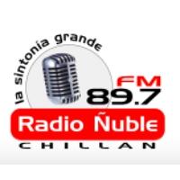 Logo of radio station Radio Ñuble FM 89.7