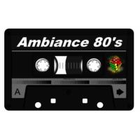 Logo of radio station AMBIANCE 80'S