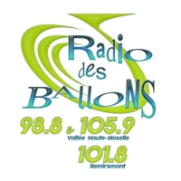 Logo of radio station Radio des Ballons 98.8 & 105.9