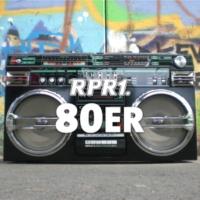 Logo of radio station RPR1. 80er
