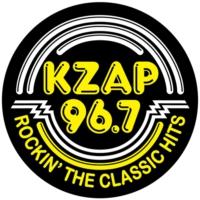 Logo de la radio KZAP 96.7