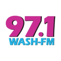 Logo of radio station 97.1 WASH-FM