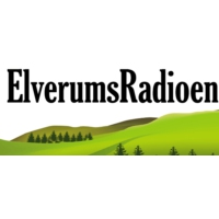 Logo of radio station ElverumsRadioen